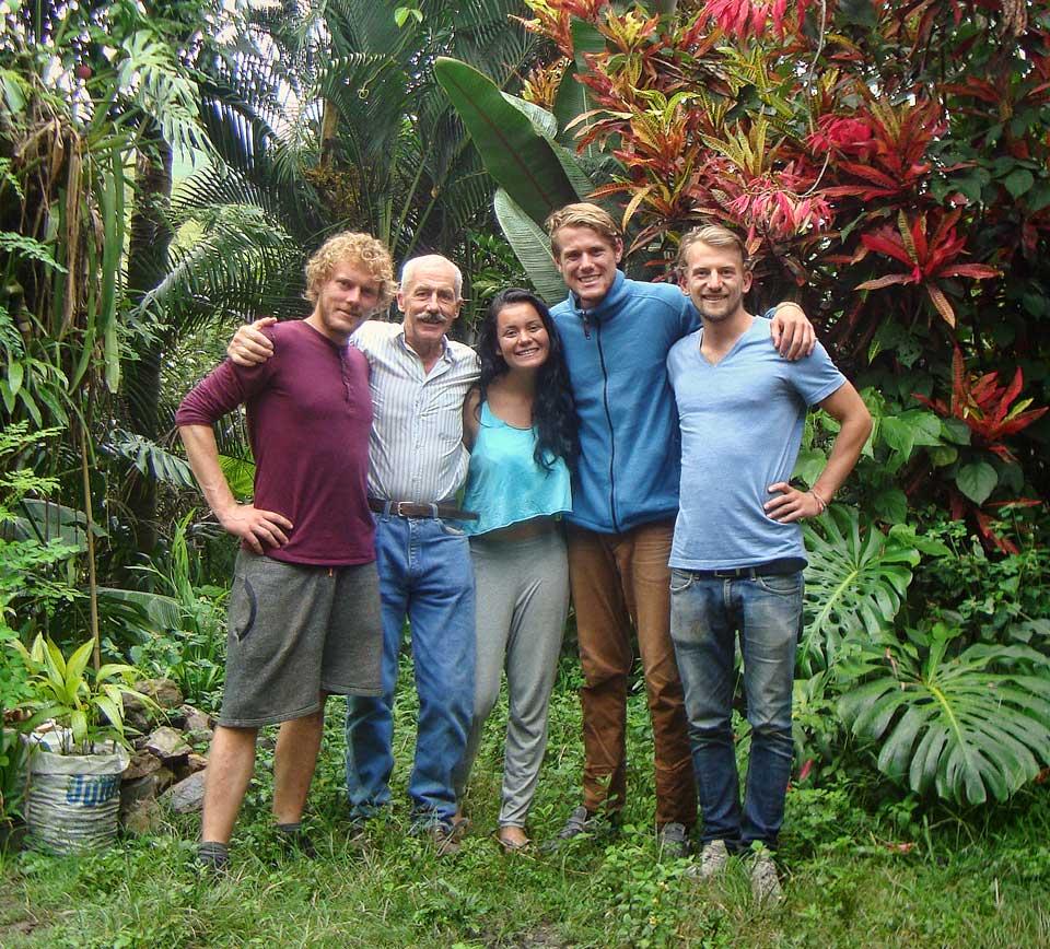 Alumnos | Hospedaje | Parque Bambú